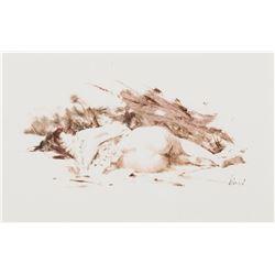 Reclining Nude (Jamie)