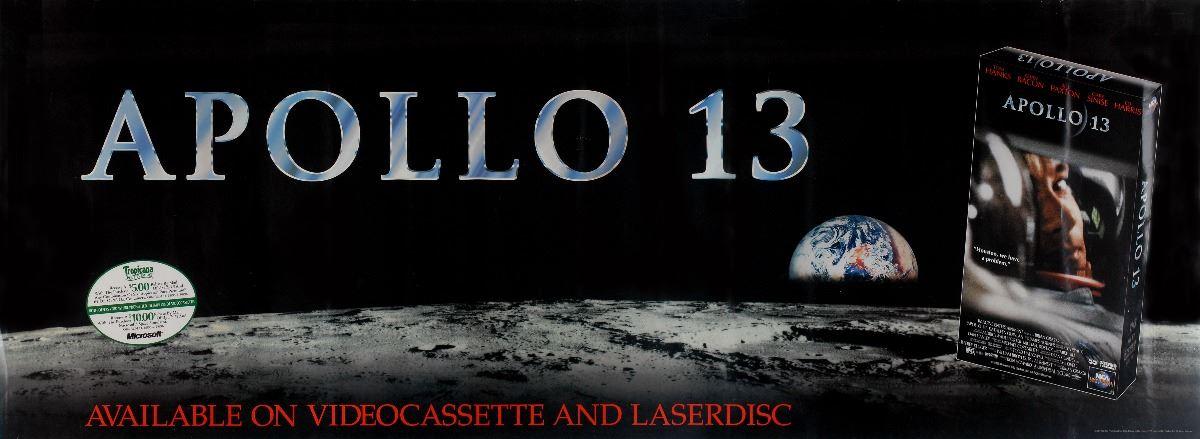 Apollo 13 Movie Standees