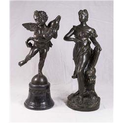 2 Bronze Sculptures