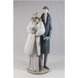 """Lladro Double Figurine, """"On the Town"""""""