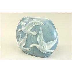 Phoenix Glass Bird Vase