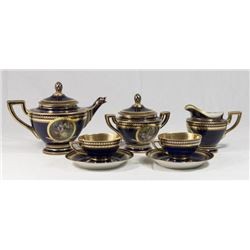 Austrian Porcelain Tea Set