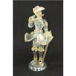 Venetian Glass Figure of a Gentleman