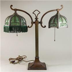 EM & Co. Double Student Lamp