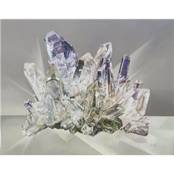 """John Zak, """"Grey Amethyst Crystal"""""""