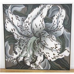 """John Zak, """"White Tiger Lily"""""""