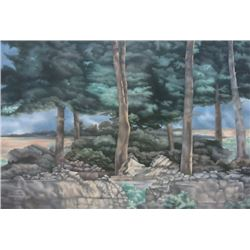 "John Zak, ""Turkish Landscape"""