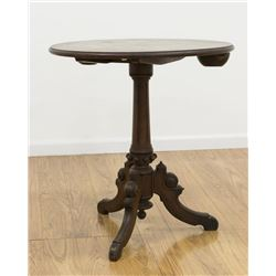 19th Century Victorian Chess Table