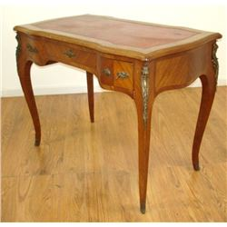 Louis XV style Ormolu Tulipwood Ladies Desk