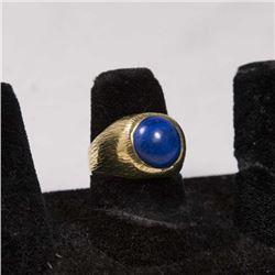14K Gold & Lapis Ring