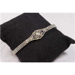 Art Deco 14K Gold Filigree Bracelet