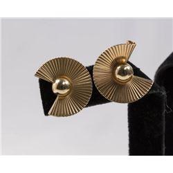 Pair 14K Tiffany & Co. Earrings