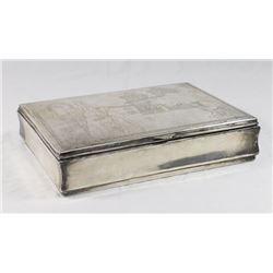 Peruvian Silver Box