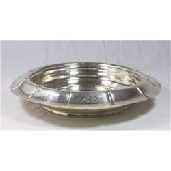 Lebolt Sterling Silver Arts & Crafts Round Bowl