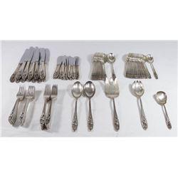 International Sterling Silver Flatware Set