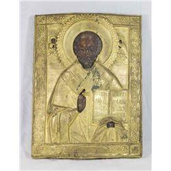 Russian Icon of Luke