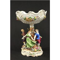 German Figural Porcelain Centerpiece