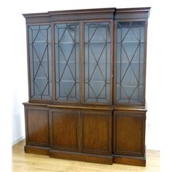 Schmieg and Kotzian Mahogany 4 Door Breakfront