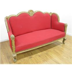 Louis Philippe Style French Sofa