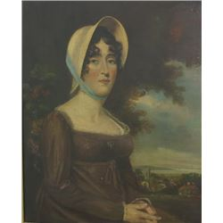 Portrait of Lady with Bonnet
