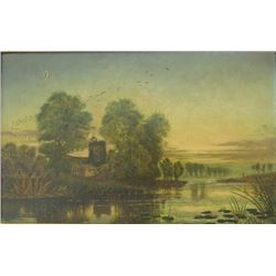 C. Langley River Landscape