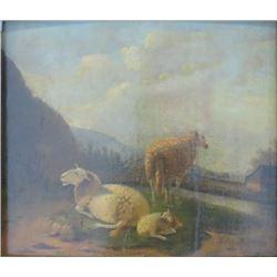 Balthasar Paul Ommeganck, Sheep in Landscape
