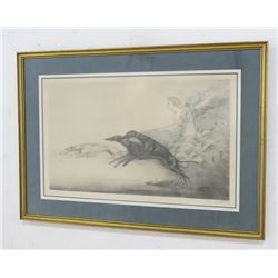 """Louis Icart Lithograph, """"Speed"""""""