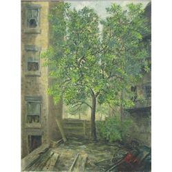 Leon Louis Dolice (1892-1960) Oil on Canvas