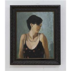 """Chris Ford, Portrait of """"Lilly"""""""
