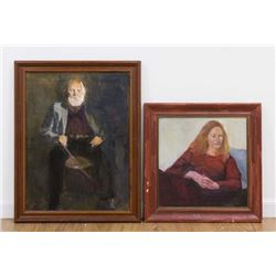 Chris Ford, Two Portraits