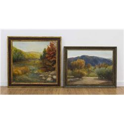 Chris Ford, Two Autumn Landscapes