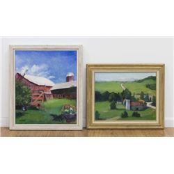 Chris Ford, Two Rural Landscapes