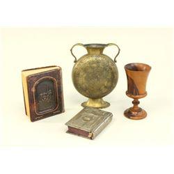 Lot of 4 Judaica Items