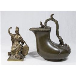 Two Bronze Objects