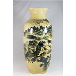 Large 19th Century Japanese Vase