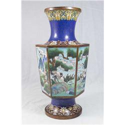 Cloissoné Decorative Vase