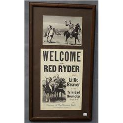 RED RYDER POSTER