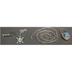 COLLECTION OF NAVAJO JEWLERY