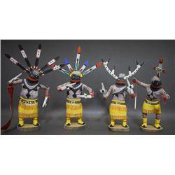 FOUR APACHE GAN DANCE DOLLS (DAWAHONGVA)