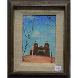 WESTERN OIL PAINTING (HASTED)