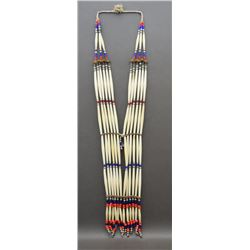 PLAINS HAIR PIPE BANDOLIER