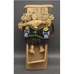 WOODLANDS DOLL CRADLE