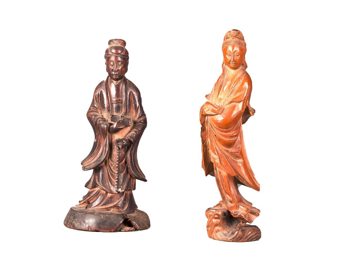 Carved boxwood handcrafted collections
