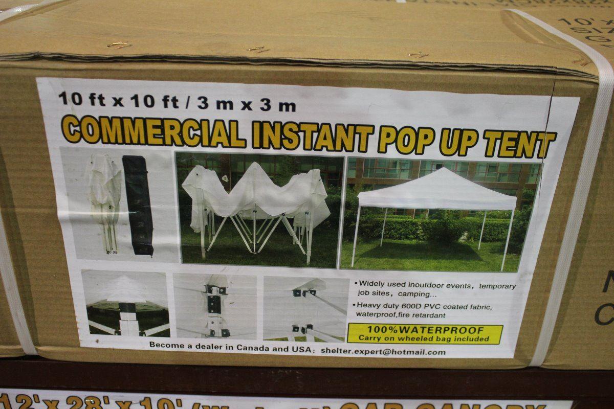 10 X 10' COMMERCIAL INSTANT POP-UP TENT