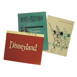 Disney Television Educational Guide for Disneyland and the Mickey Mouse Club TV Shows