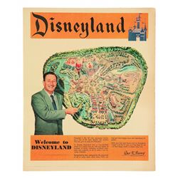 Disneyland Pre-Opening Los Angeles Times News Supplement