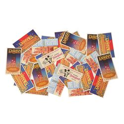 Group of  (26) Complimentary Main Gate Admission tickets