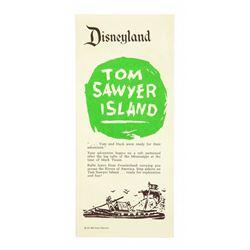Tom Sawyer Island Explorer's Map Flyer