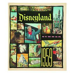 Disneyland Summer 1959 News Paper Supplement