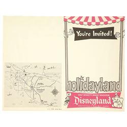 Rare Holidayland Invitation